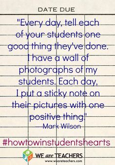 Have gen. ed. teachers submit sticky notes?