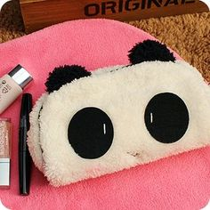 Aliexpress.com : Buy Free shipping/New kawaii Panda plush pencil bag/pouch/10pcs pencil case/Wholesale from Reliable pencil bag case supplie...