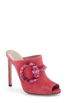 Gucci 'Maxime' Mule Sandal (Women) available at #Nordstrom