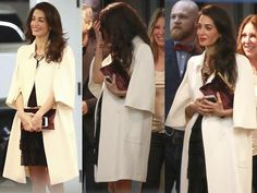 Amal Clooney Pregnant: Her Loose-Fitting Jacket Sparks A Rush Of Baby Rumours