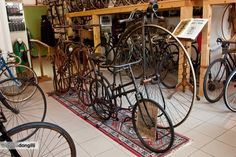 Nuove foto del Museo Ciclocollection - #ciclocollection #museo #museum #bicycle #bike #cycling #vintage #cycle #VeloBike #fahrrad #rivadelgarda