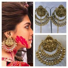 Online Shopping for Ram Leela Kundan Ear Ring | Earrings | Unique Indian Products by Saachi - MSAAC73126889390