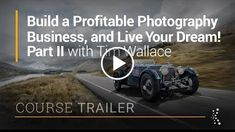 Build a Profitable Photography Business Part 2 with Tim Wallace  Official Trailer  http://videotutorials411.com/build-a-profitable-photography-business-part-2-with-tim-wallace-official-trailer/  #Photoshop #adobe #lightroom #graphicdesign #photography