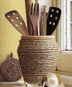 Come realizzare un porta utensili da cucina fai da te