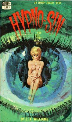 HYPNO-SIN #pulp #cover #art #vintage