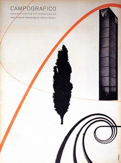 Campo Grafico, issue n.5, 1936 by Luigi Veronesi via