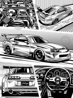 Toyota Supra 246 Wallpaper Added on , Tagged : Toyota supra at Oliver Rowland Racing Toyota Supra Mk4, Tuner Cars, Jdm Cars, Nissan Skyline, Skyline Gtr, Carros Bmw, Jdm Wallpaper, Hyundai Genesis, Car Illustration