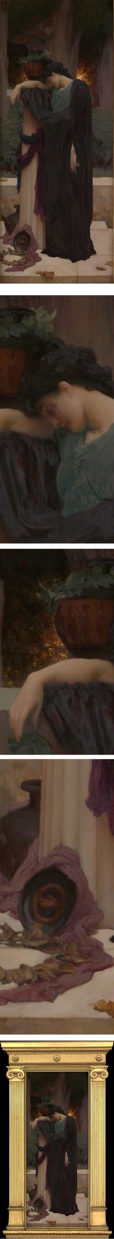 Eye Candy for Today: Frederic Leighton's Lachrymae