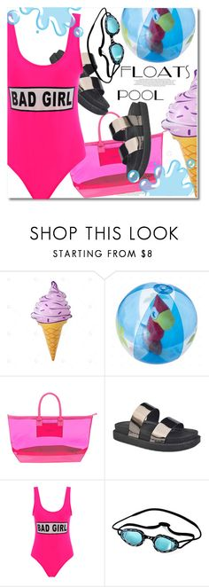 """""""Pool floats"""" by paculi ❤ liked on Polyvore featuring Stephanie Johnson"""