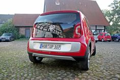 Volkswagen Cross up! Heckansicht