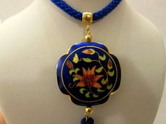 Hey, I found this really awesome Etsy listing at https://www.etsy.com/listing/163977105/sale-beautiful-cloisonne-necklace