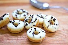 vanilla bean mini donuts.