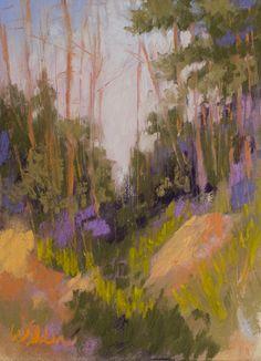 The Ravine by Judy Wilder Dalton Pastel ~ 7 x 5