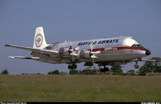 Buffalo Airways Canadair CL-44 freighter
