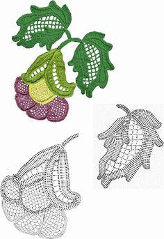 Зачарованные участки: Цветы крючком (схемы)