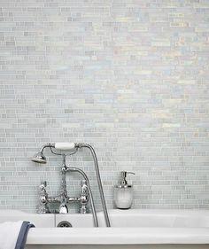 p bathroom silver mosaic tile white pure white arquitecture
