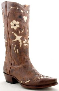 THESE! <3    http://www.allensboots.com/boots/old-gringo/womens-tan-golondrina-l017-18-snip?id=8485