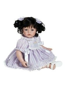 New Adora Lavender Fields 20 Inch Doll Baby Dolls For Toddlers, Toddler Dolls, Blue Hair, Brown Hair, Silicone Baby Dolls, Bratz Doll, Lavender Fields, Collector Dolls, Cute Dolls