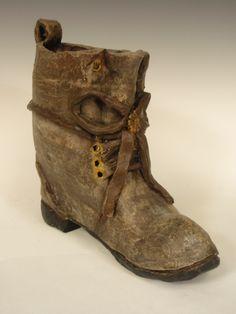 Ceramics 1, Slab Built Boot