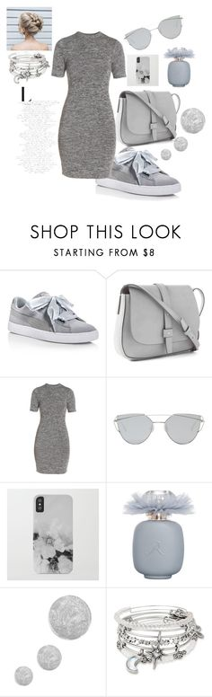 """Untitled #158"" by look-like-good ❤ liked on Polyvore featuring Puma, Gap, French Connection, Gentle Monster, Topshop and Alex and Ani"