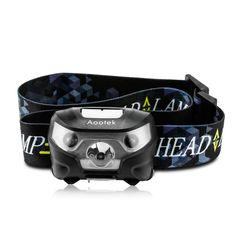 Aootek Super Bright and Lightweight Rechargeable Led Headlamp Motion Sensor Control Waterproof Headlight for Running *** Be sure to check out this awesome product.