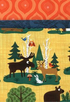 Pillowcase Kit :Does a Bear Have Friends in the Woods?