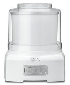 Cuisinart ICE-21 Ice Cream Maker, Frozen Yogurt & Sorbet - Electrics - Kitchen - Macy's Bridal and Wedding Registry