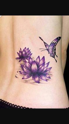 Tatoo papillon