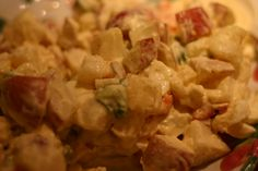 Korean Potato Salad Recipe - Recipe for Korean Potato Salad with Apple