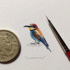 My Owl Barn: Postcards for Ants: A Miniature Painting A Day Project by Lorraine Loots