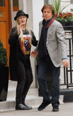 Heather Louise and Paul McCartney