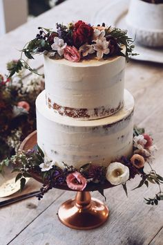 And After Winter Comes Spring Editorial | Grace Loves Lace #weddingcakes