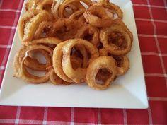 Aros de cebolla fritos - Recetas de Cocina - YouTube