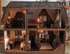 The House at Gate Hill - a Glencroft - The Greenleaf Miniature Community