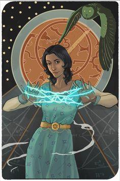 Tarot, Disney Characters, Fictional Characters, Knowledge, Wisdom, Deviantart, Disney Princess, Fantasy Characters, Disney Princesses