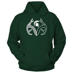 Antler Logo - Michigan State Spartans T-Shirt  Michigan State Spartans Official Apparel - this licensed gear is the perfect clothing for fans. Makes a fun gift!  AVAILABLE PRODUCTS Gildan Unisex Pullover Hoodie - $44.95   Gildan Unisex Pullover Hoodie District Women District Men Gildan Long-Sleeve T-Shirt Gildan Fleece Crew Next Level Women View sizing / material info BUY IT NOW ...