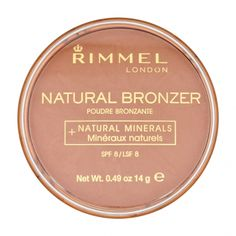 Use Rimmel Natural Bronzer - Sun Bronze for a healthy tanned look whatever the weather. This light, natural looking bronzing powder combines colour and protection with Hello Sunshine! Best Bronzer, Makeup Box, Eye Makeup, Rimmel Makeup, Bright Lipstick, Rimmel London, Summer Glow, Makeup Obsession