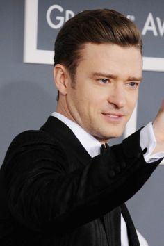 Justin Timberlake at the 55th Grammy Awards