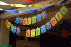 paint chip banner and other great ideas!!