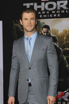 Weight Becomes a Thor Subject for Chris Hemsworth Celebrity Diets, Chris Hemsworth, Thor, How To Become, Breast, Suit Jacket, Suits, Celebrities, Jackets