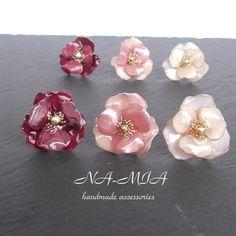 Diy Earrings, Pearl Earrings, Nail Polish Flowers, Resin Jewelry, Jewellery, Hair Piece, Handmade Accessories, Craft Fairs, Headbands