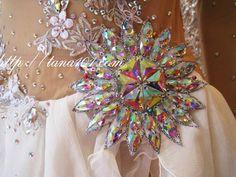 Latin Salsa Ballroom Competition Dress HS155 Size M   eBay
