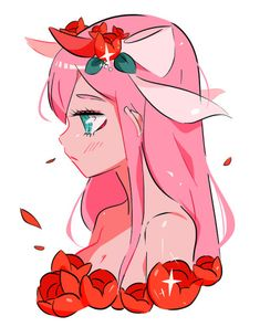 Uploaded by koo. Find images and videos about cute, pink and anime on We Heart It - the app to get lost in what you love. Anime Zero, Chibi, Zero Two, Best Waifu, Darling In The Franxx, Me Me Me Anime, Aesthetic Anime, Cute Drawings, Cute Wallpapers
