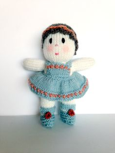 Handmade Knitted Baby Doll (Brand New)