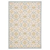 Found it at Wayfair - Carribean Ivory & Blue Rug
