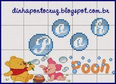 Salve os dois monogramas aqui: http://dinhapontocruz.blogspot.com.br/2014/11/monograma-bolhinhas-pooh.html