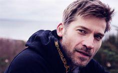 Descargar fondos de pantalla Nikolaj Coster-Waldau, el actor danés, retrato, Juego de Tronos