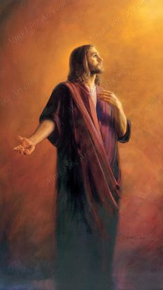 "Pictures of Jesus by Jay Bryant Ward ~ ""Our Advocate"""