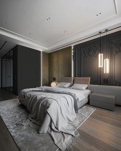 Minimalist Interior, Modern Interior, Interior Architecture, Interior Design, Contemporary Bedroom Furniture, Apartment Interior, Living Room Furniture, House Design, Home Decor