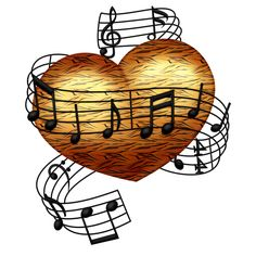 Music is Life Musik Illustration, Heart Illustration, Music Drawings, Music Artwork, Music Is Life, My Music, Iphone Wallpaper Music, Music Symbols, Heart Pictures
